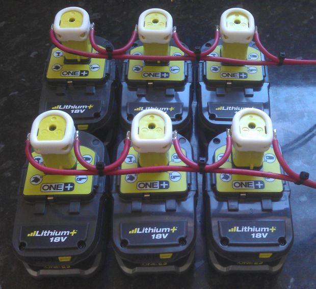 Ryobi Battery Power Source