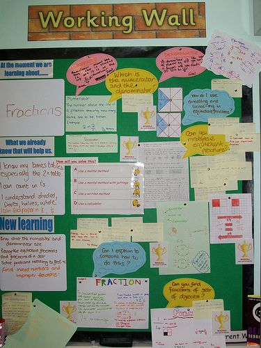maths working wall | Year 6 maths working wall - Shape | Julie Conway | Flickr