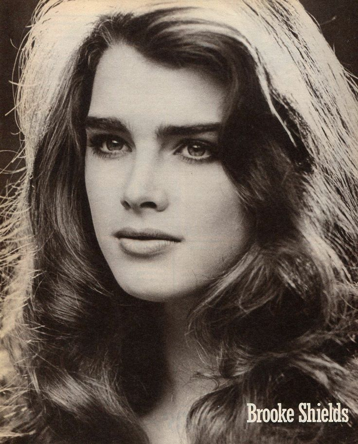 Young brooke shields right! good