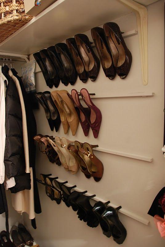 Oltre 1000 idee su astuce rangement chaussures su pinterest rangement chaus - Astuce rangement chaussure ...