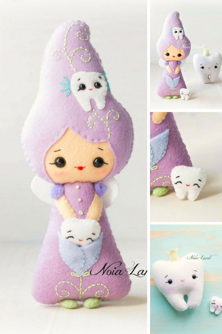 Tooth Fairy Felt Doll Pattern