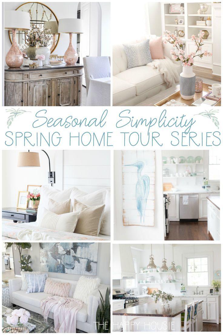 Come Join The Seasonal Simplicity Home Tour Series Seasonalsimplicity Springhomedeecor Homedecor Thehyhousie
