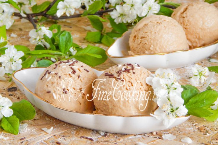 Карамельное мороженое - рецепт с фото