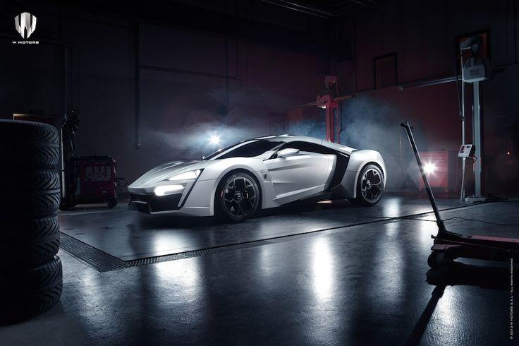 Lykan, el auto más lujoso del mundo diseñado por W Motors