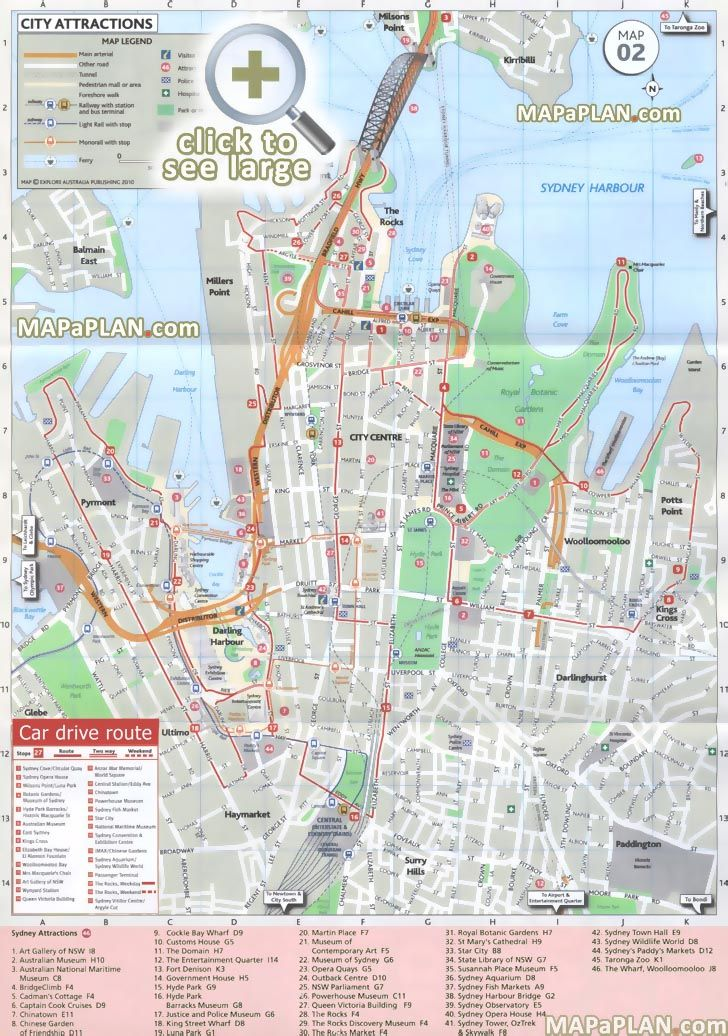 1000 images about Sydney top tourist attractions city travel maps – Travel Directions Maps