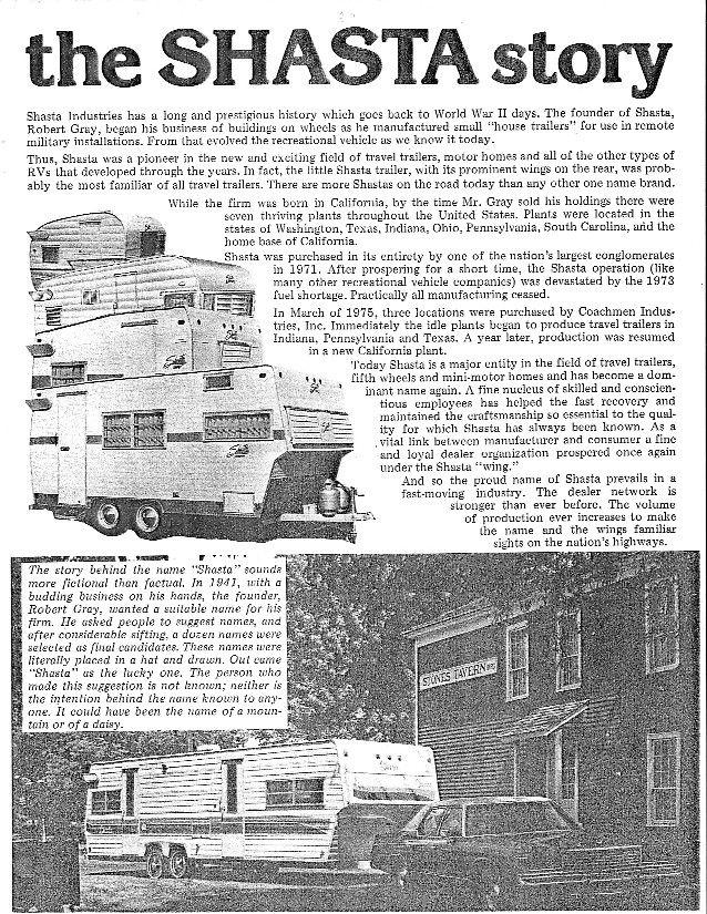vintage shasta camper floor plans   ... Teardrop trailers, Vintage Shastas, Martin Luther Miller, TN and more