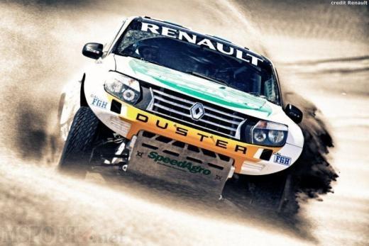 Renault/Dacia Duster preparing for 2013 Dakar Rally