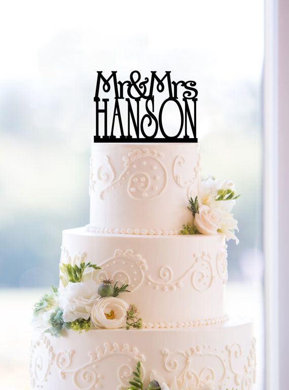 Top cake Mr & Mme ...