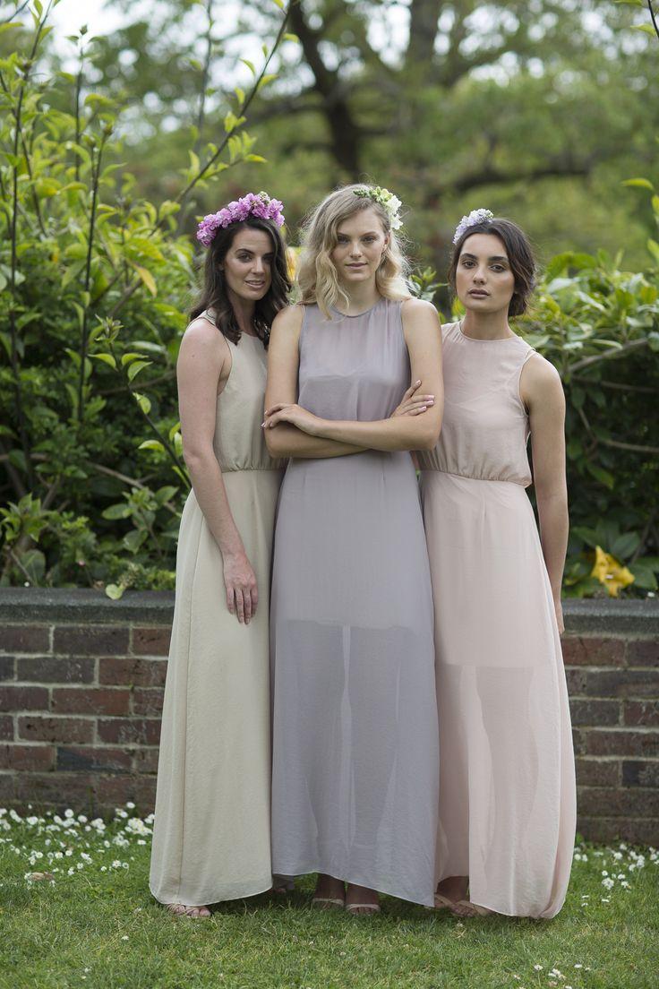 Céline Rita NZ Designer Chiffon Maxi Dresses bridesmaid Auckland Wintergardens