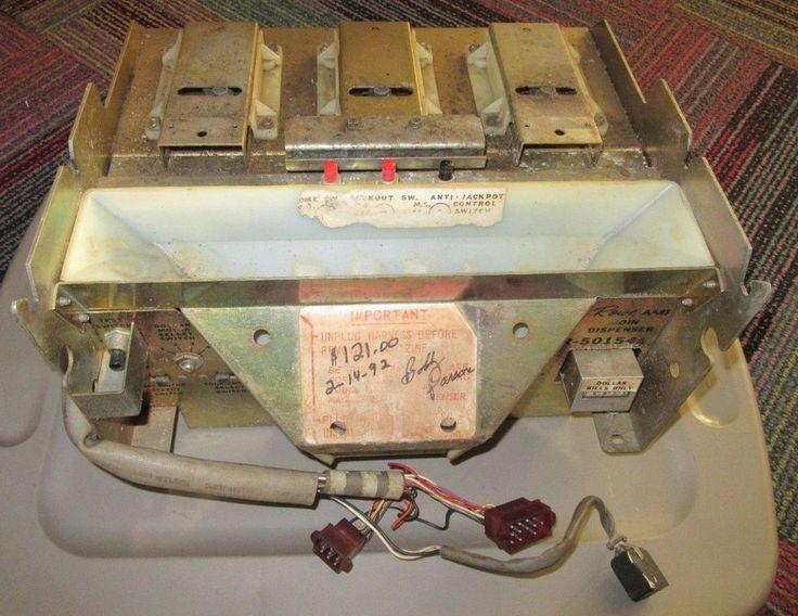 ROWE BCC-8 COIN CHANGER CHANGE MACHINE COIN DISPENSER R-50154A, GUC #ROWE