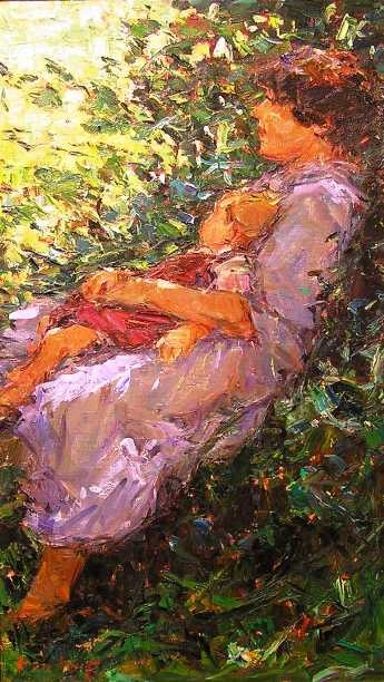 Boshoff, Adrian ~Seated Mother and Child~