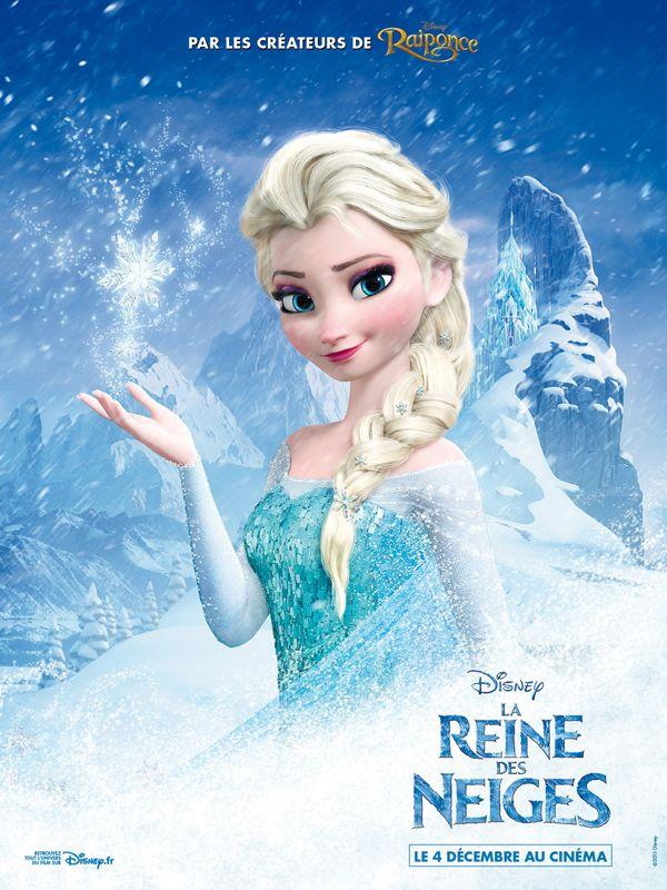 La reine des neiges les affiches personnages du - Personnages la reine des neiges ...