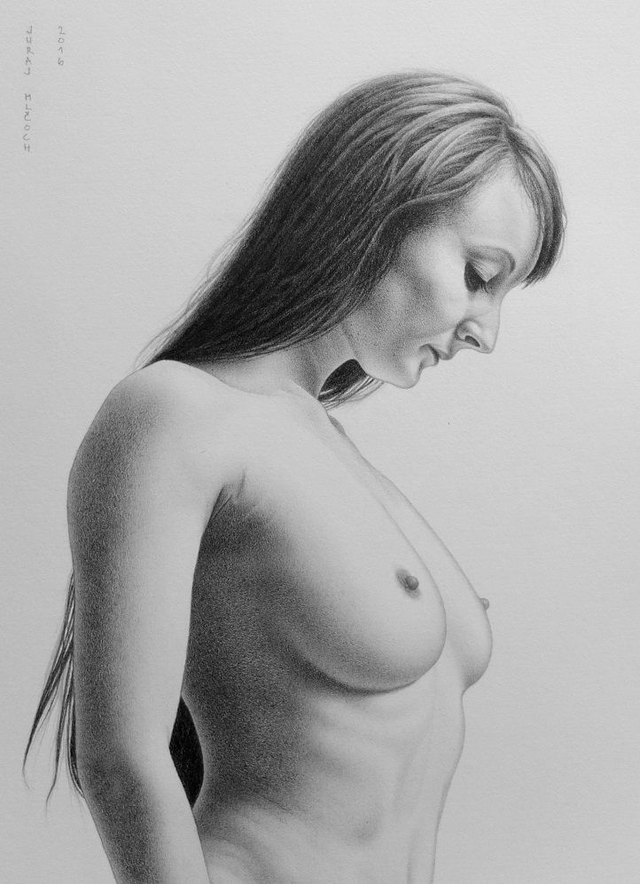 year: 2016 /// size: 7.48 x 10.63 inch or 19 x 27 cm /// medium: graphite pencil - Faber Castell 9000 /// paper: Arches watercolor hot pressed 300g /// original reference photo by: Marcus Ranum - www.ranum.com