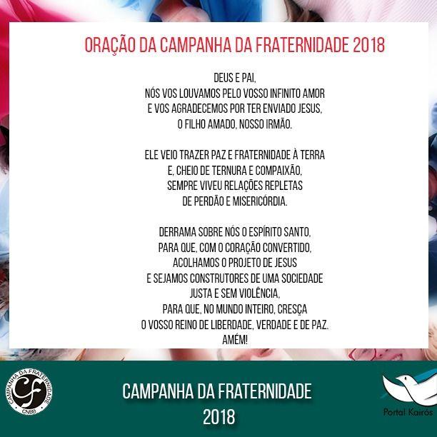 Campanha Da Fraternidade 2020 Cobertura Completa Oracao
