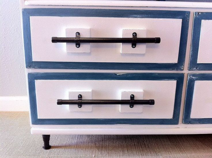 Eclectic Vintage TV Stand