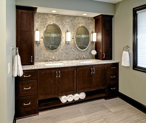 25 great ideas about master bathroom designs on pinterest for Bathroom cabinet renovation ideas