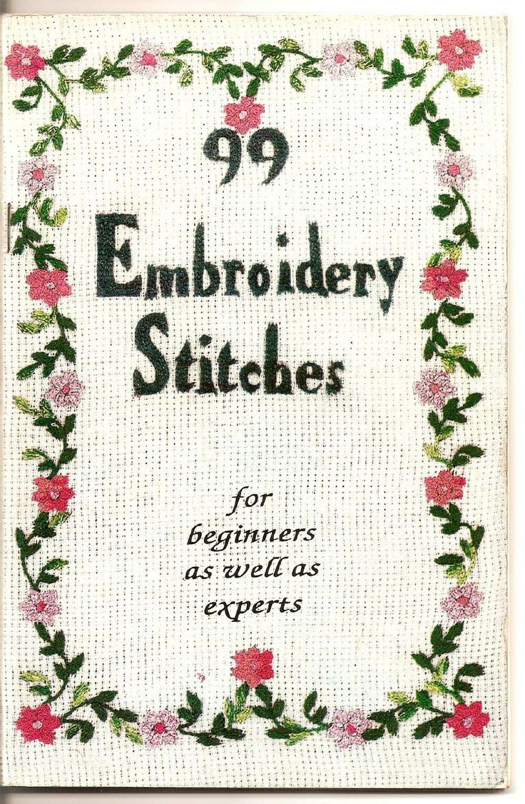 99 embroidery stitches   99 Embroidery Stitches tutorials
