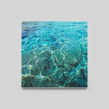 Lagoon in the Tropics | Framed Canvas