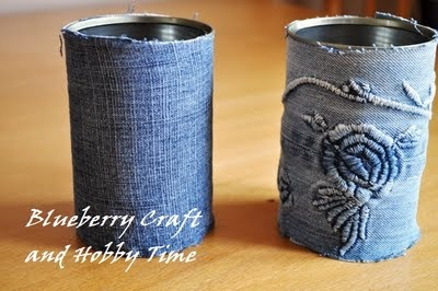 Blueberry Craft and Hobby Time: How to create an organizer for your Craft Tools or just a pencil holder