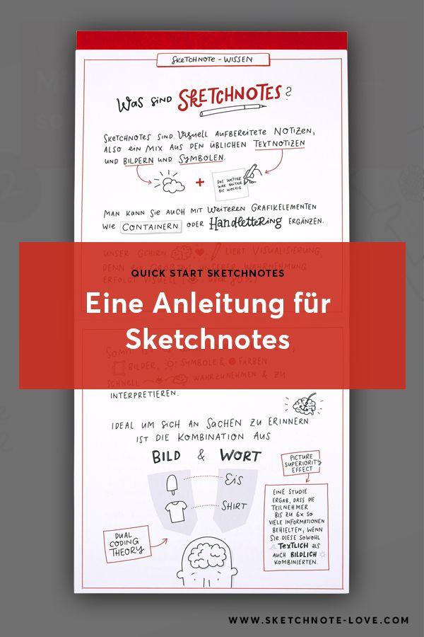 Quick Start Block Sketchnotes Einfach Sketchnotes Lernen Sketchnote Love Sketch Note Anleitungen Lernen