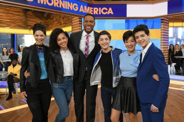 The Andi Mack TV show has been renewed for season three on Disney Channel. The cast found out today, on Good Morning America. How are you enjoying the second season? Will you tune if for the third?
