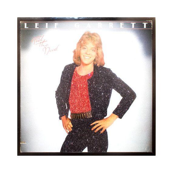 Glittered Leif Garrett Album