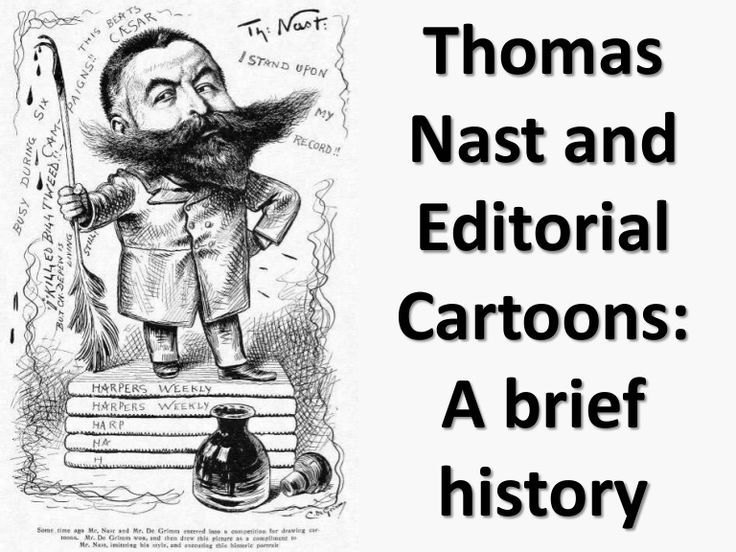 Thomas nast and editorial cartoons history michael