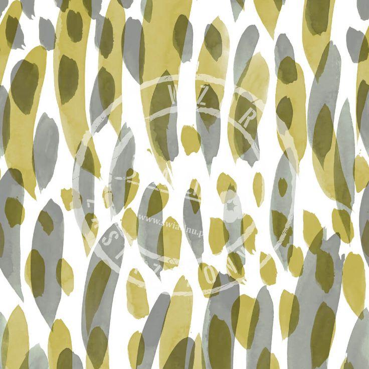 Druk na tkaninach naturalnych: len, bawełna, wiskoza. Autorska kolekcja wzorów jedyna i niepowtarzalna. Zatop się w głębi kolorów. Pracownia Druku - drukujemy również na Twoich tkaninach.  #pracowniadruku #tkaniny #wzory   Wzór Sawanna  SAVANNAH  Painted Pattern olive greener