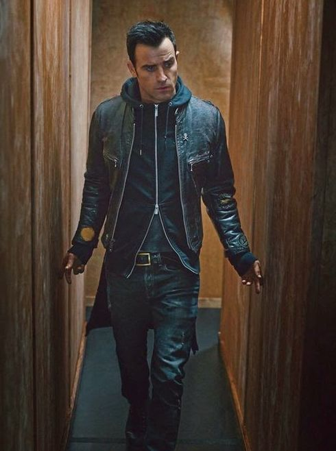 Justin Theroux || two-way zip hoodie