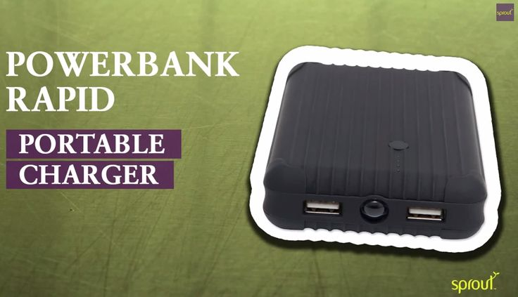 Is your phone in need of a super quick recharge? Powerbank Rapid to the rescue! This backup battery pack/external powerbank packs a serious punch. #sprout #freedomtogrow #powerbank #rapidcharge #technology #electronics #device #iphone #charger #portablecharger