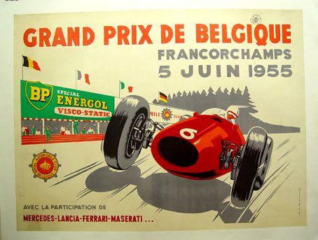 Historic Car Racing Posters