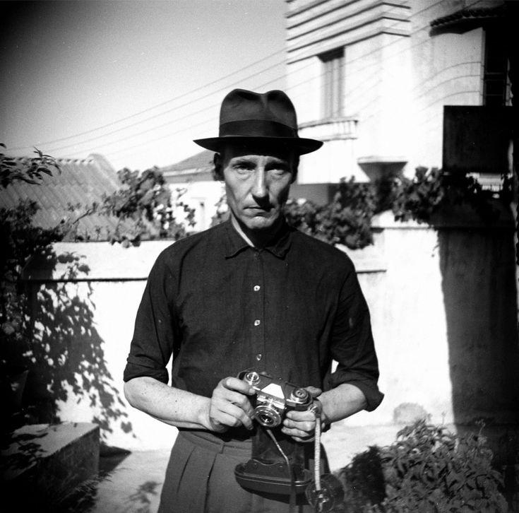 Burroughs in the Hotel Villa Mouniria Garden, Tangier