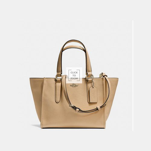 Coach Outlet Locations & COACH CROSBY mini carryall LIGHT GOLD/NUDE