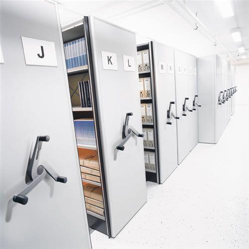 Compactus Archive <br /> - MCB - regały przesuwne, regały magazynowe i meble biurowe