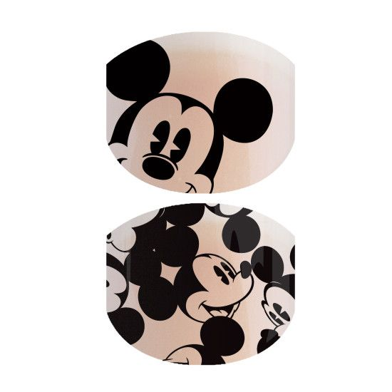 Oh Boy! Jr | Disney Collection by Jamberry The smiling face of Disney Mickey Mouse gives this classic black-on-clear wrap, 'Oh Boy! Jr' its cheery charm.