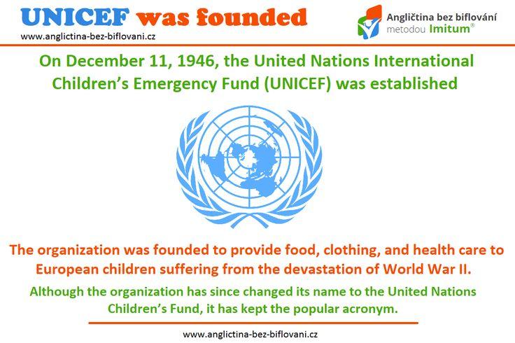 Světový den dětství je dalším z mnoha významných dnů, který je věnován právě dětem. 👫 Připadl právě na tento den - 11. prosince, neboť v roce 1946 byla založena organizace UNICEF - Dětský fond Organizace spojených národů, který pomáhá ke zlepšení životních podmínek dětí po celém světě. 🆘🌍💰