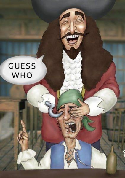 How pirates get eyepatches. Hahaha! @Coree Kuster