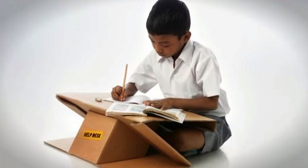 Eco-friendly Portable Desk & Book Bag