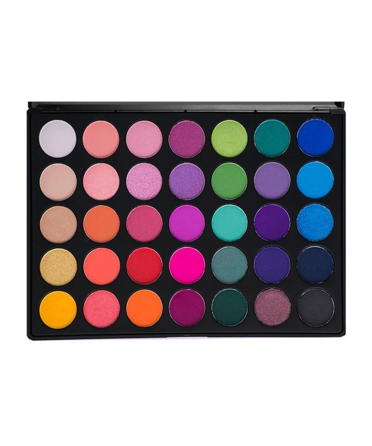 35 Colour Bright Matte and Shimmer Palette (35B) by Morphe Brushes  Stunning, stunning, stunning! This 35 pan eyeshadow palette contains a rainbow of beautiful eyeshadow colours. Perfect for a pop of colour, create unlimited bright eye looks. Ideal for a make-up artist or someone who loves experimenting with different make-up looks. #affiliate