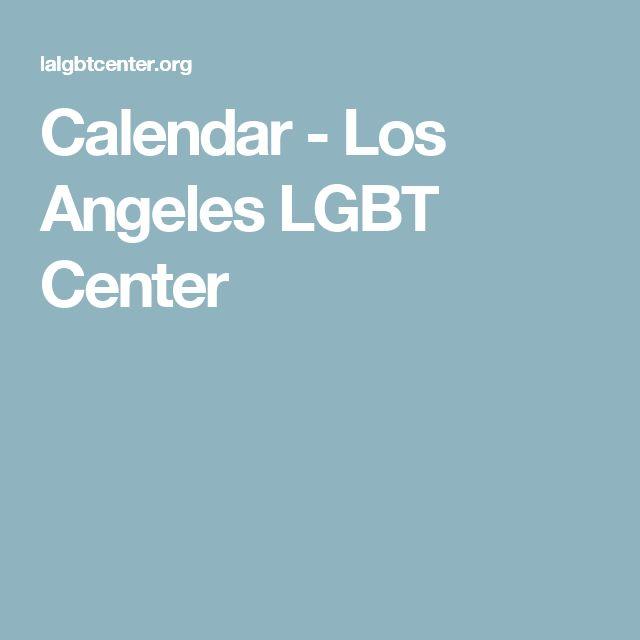 Calendar - Los Angeles LGBT Center