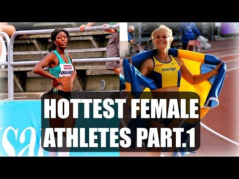 Beautiful and Sexy Women in Sports ● Hottest Female Athletes Part.1 - YouTube