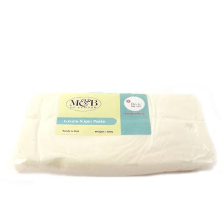 M Ivory Luxury Ready To Roll Sugarpaste 500g
