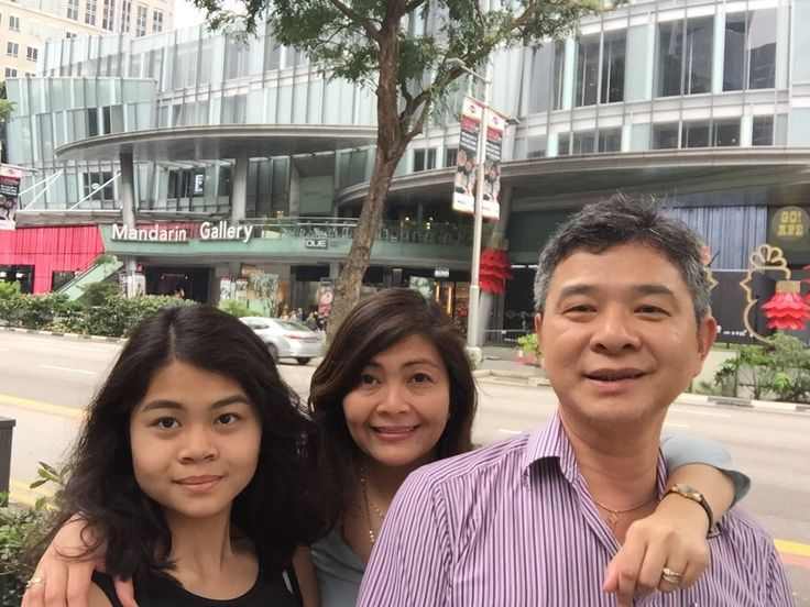 My family stay at Mandarin Orchard Singapore