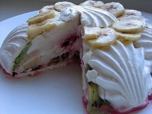 Рецепт торта из печенья который не надо печь