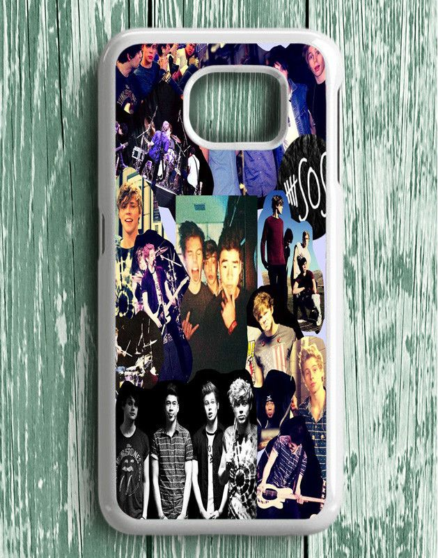 5 Second Of Summer Collage Samsung Galaxy S6 Edge Plus | Samsung S6 Edge Plus Case