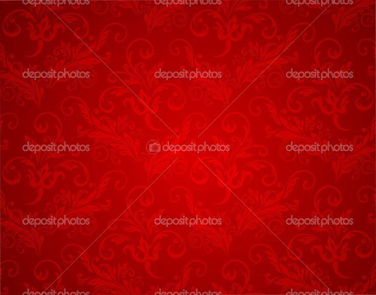 Рождество красный фон текстура — стоковая иллюстрация #7395074