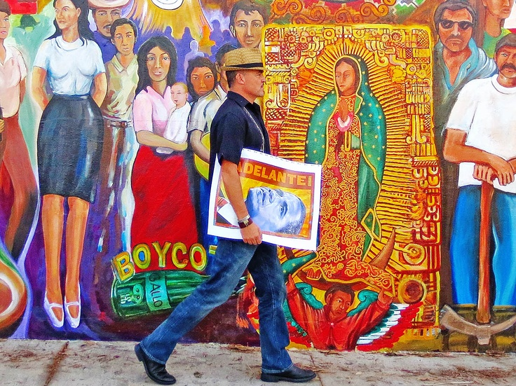 17 best images about la virgen de guadalupe on pinterest for Chicano mural art