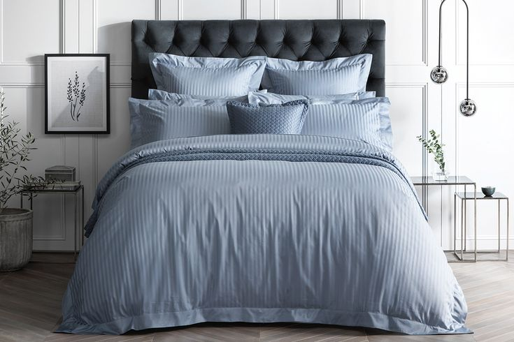 Sheridan 1200Tc Millennia Quilt Cover Ash Blue for Queen Bed $629.95 full price.. will have to wait for at least 60% off!!!