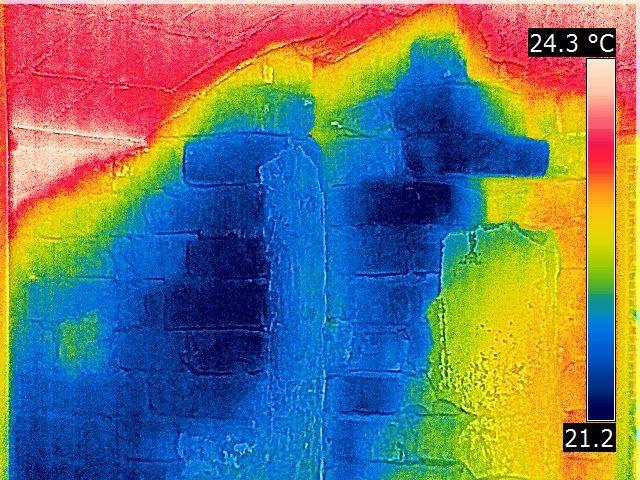 Termografia: Umidità di risalita due metodi di rilievo a confro...