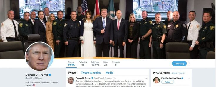 NBC's Chuck Todd complains about 'odd photo' Trump uses for Twitter background after Parkland shooting